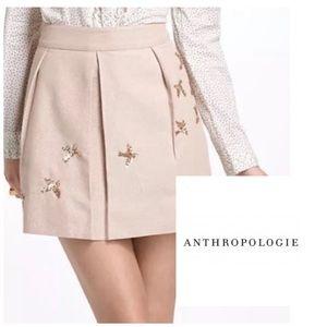 Leifnotes Bird Motif Skirt